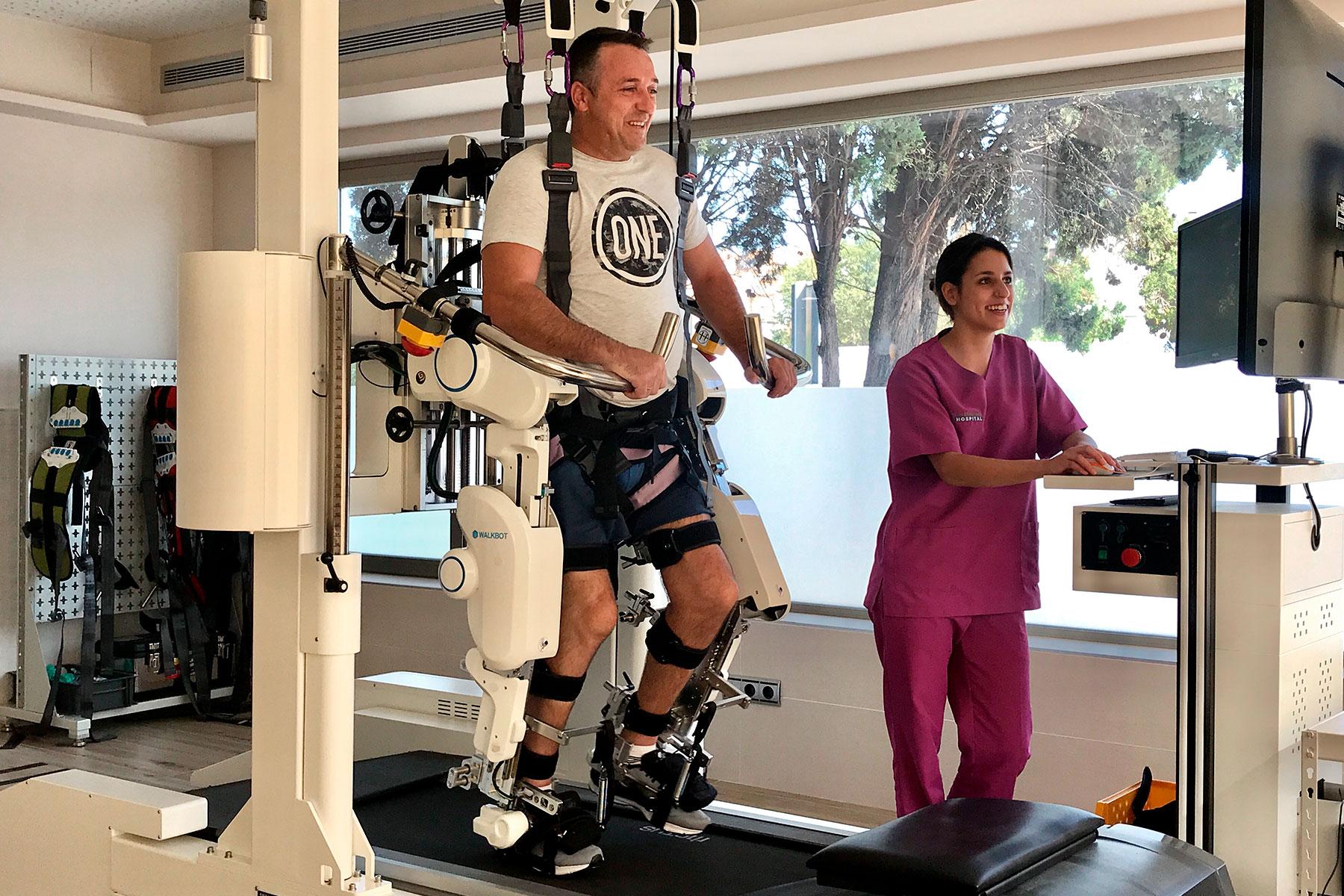 La Unidad de rehabilitación neurológica de Hospital de Brunete cumple 10 años
